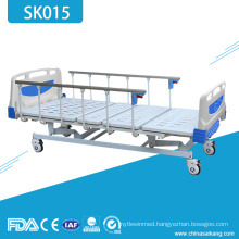 SK015 Cheap Hospital Four Crank Manual Patient Bed For Sale
