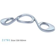 Aleación de zinc muebles de hardware Tirar manija de gabinete (21701)