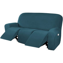 Inicio Muebles de tres plazas Fundas para sofás reclinables elásticos de sarga