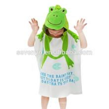 Toalha 100% algodão do bebê com capuz com design exclusivo, antibacteriano e hipoalergênico premium Toalhas de bebê estilo animal dos desenhos animados