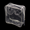 Sac en plastique transparent d'impression de PVC avec la tirette