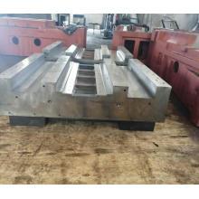 gran estructura de soldadura de piezas mecanizadas CNC a medida
