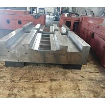 große kundenspezifische CNC-bearbeitete Teileschweißstruktur