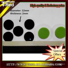 Forma y tamaño personalizables almohadilla de gel PU pegajosa, almohadilla de gel suave PU pegajosa