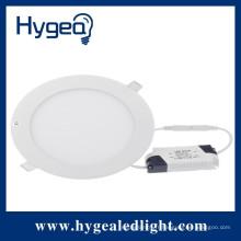Epistar chips CE ROHS & EMC LVD approbation verre ultra-mince conduit encastré panneau de plafond lumière