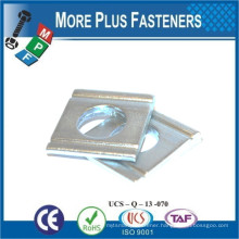 Made in Taiwan Carbon Steel Stainless Steel Square Beveled for Channel DIN 434 Square Washer