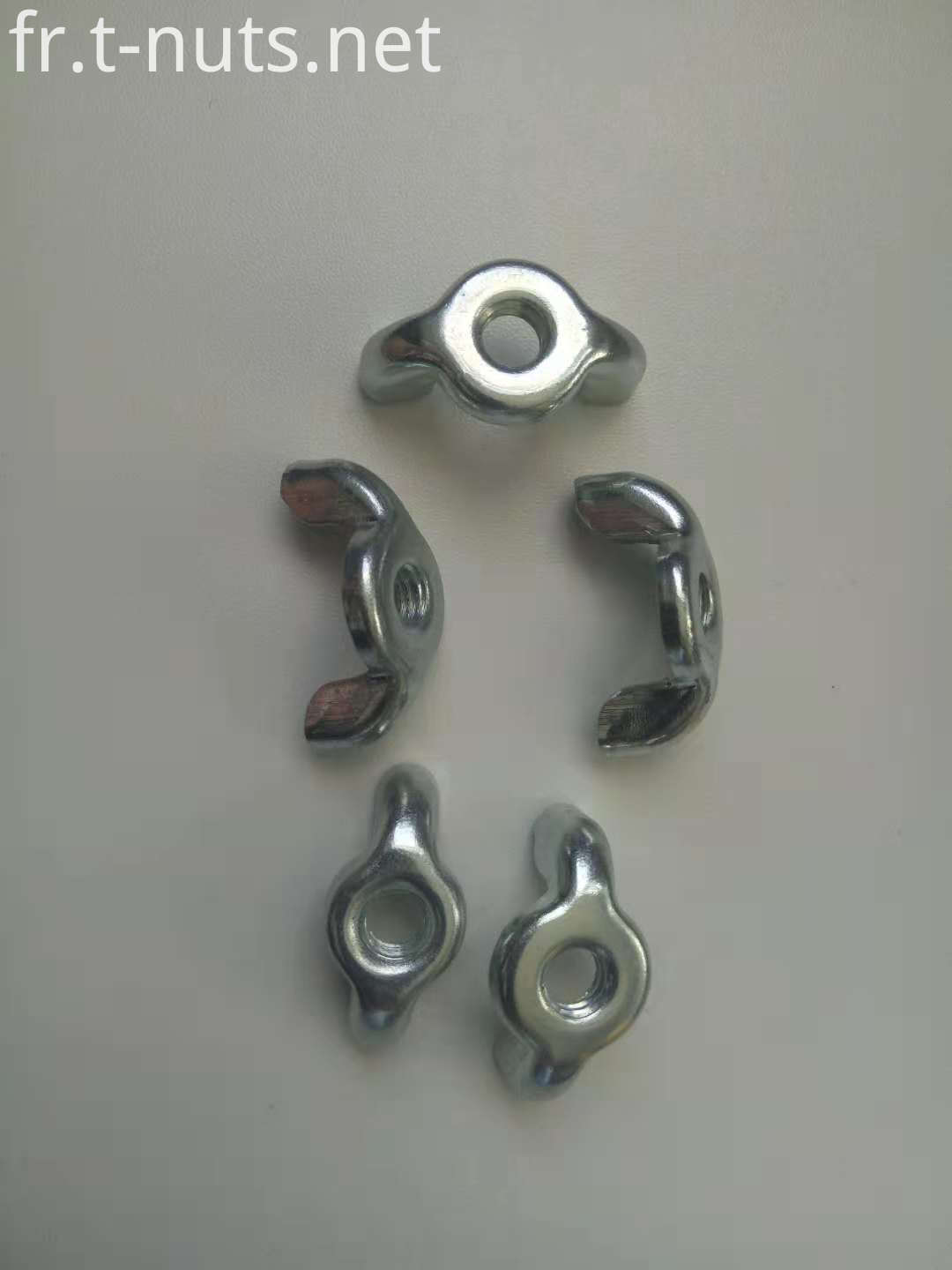 Zinc Plated Wing nuts