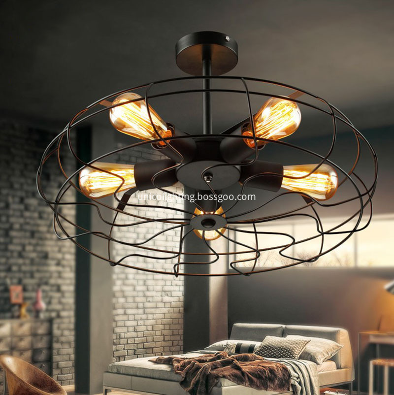 Applicantion Ceiling Fan With Led Light And Remote