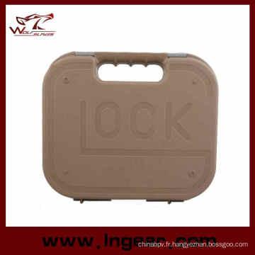Trousse à outils affaire militaire tactique plastiques affaire pistolet Glock pistolet