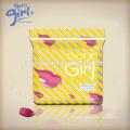 Almohadillas sanitarias femeninas suaves de alta calidad de la señora respirable con las alas