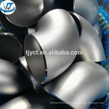 ASTM JIS DIN Standard 90 degrés en acier inoxydable coude / flexion SUS304