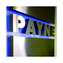 Advertising Illuminated Sign Acrylic backlit letters  DIY lighted sign exterior building signs