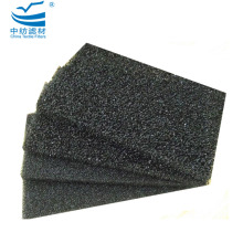 Customized 10mm Activated Carbon Foam