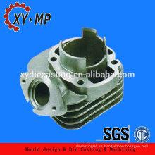 OEM cnc mecanizado piezas de cilindro del motor de fundición