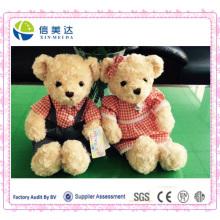 Teddybär Plüsch Spielzeug Gefüllte Paar Bären Soft Kinder Spielzeug