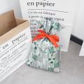 Green Cartoon Pattern CPP Plastic Christmas Gift Bag