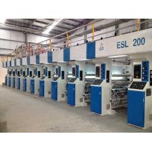 Rotationstiefdruckmaschine mit elektronischem Wellenantrieb von 200m / min