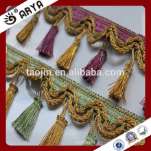 Stock Fancy Tassel Trim Fringe for Curtain Accessory