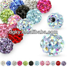 14GA Ferido Crystal Piercing Remplacement 5mm Ball