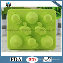Promotion Cherry Shape Silicone Ice Cube Tray Mold Si19