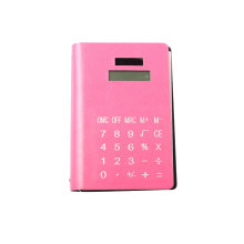 Calculadora de notebook de bobina de PU com 90 Pages Note Book