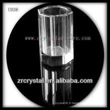 K9 Porte-plume en cristal coloré