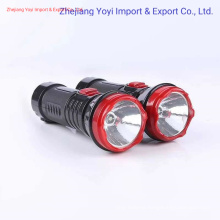 ABS Plastic Cheapest LED Flashlight Rechargeable 1W LED Torch