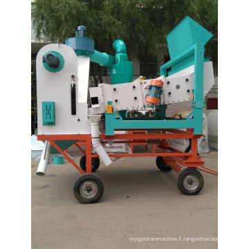 Équipement de nettoyage à vibrations mobiles