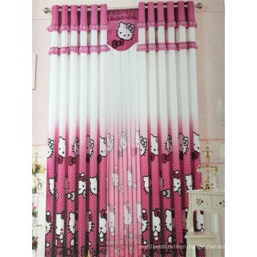 Главная Использовать занавес полиэстер Розовая ткань EDM5296