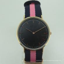 Günstige Japan PC21 Frauen Minimal Nylon Qualität Uhr