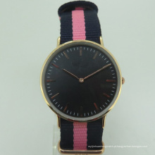 Relógio de qualidade de nylon Nylon barato mulheres PC21