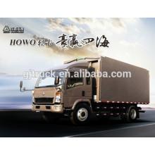 290hp Sinotruk Howo 4 * 2 camión de carga / howo camión de caja de carga / HOWO camión de caja / HOWO ligero de carga / camioneta ligera / HOWO caja truc