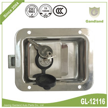 304 Stainless Steel Flush Mount Paddle Locking Latch