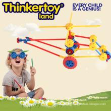 Креативные игрушки Блок для мальчика в форме вертолета