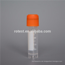 Laborverbrauchsmaterialien und sterilisierte kryogene Ampullen