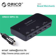 ORICOMPU-4S 4 puertos 5V2.4 Un coche universal del usb carga los teléfonos móviles, y el otro dispositivo del usb