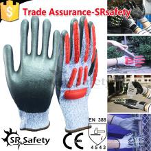 SRSAFETY High Impact Anti-cut Protective TPR Glove
