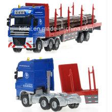 Carro de brinquedo de caminhão de logística personalizada de alta qualidade