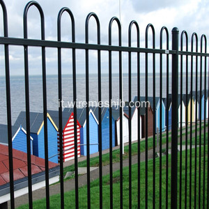 Bow Top Fence For Amusement Park