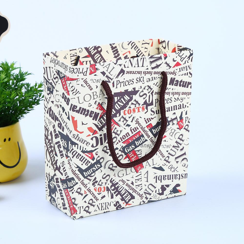 Eco Friendly Custom Size Art Paper Bag