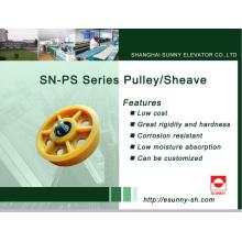 Aufzug-Riemenscheibe für Traktionssystem (SN-PS-Serie)