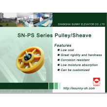 Elevator Pulley for Traction System (SN-PS Series)