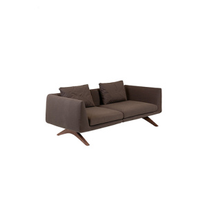 Hepburn Fixed 2-sits Lounge Fabric Soffa