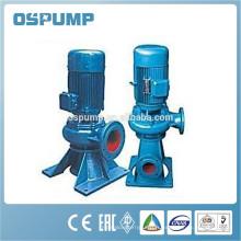 Pompe de transfert diesel électrique verticale d'eaux d'égout submersibles à haut débit