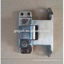 High-grade metal hinge with mirror-polishing process by machining
