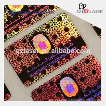 Adhesive UV ink printed anti-fake hologram label sticker