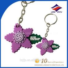 Kundenspezifisches 3D weiches handgemachtes PVC Keychain