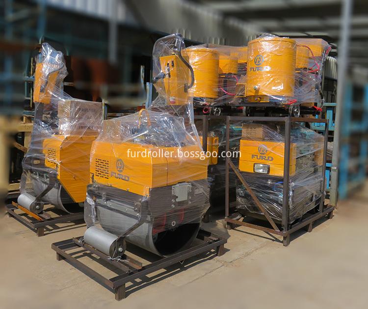 750 hydraulic road roller