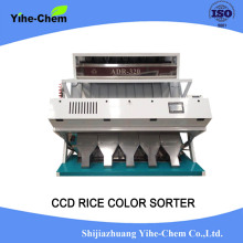Dual-spectrum color sorting machine