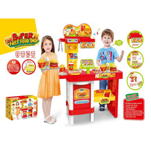 Super Fast Food Shop Küche Spielzeug-Fernbedienung Set